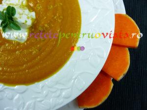 Reteta de supa crema de dovleac