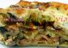 Reteta lasagna cu legume si somon