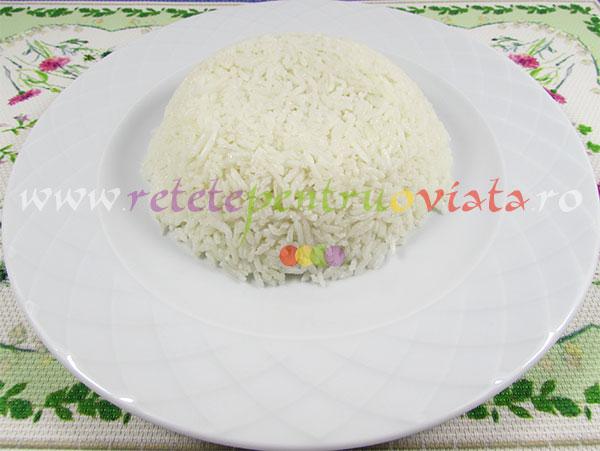 Reteta de pui cu sos dulce acrisor - garnitura de orez basmati
