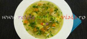 Supa de legume reteta