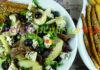 Salata Verde cu Struguri, Mere si Branza cu Mucegai