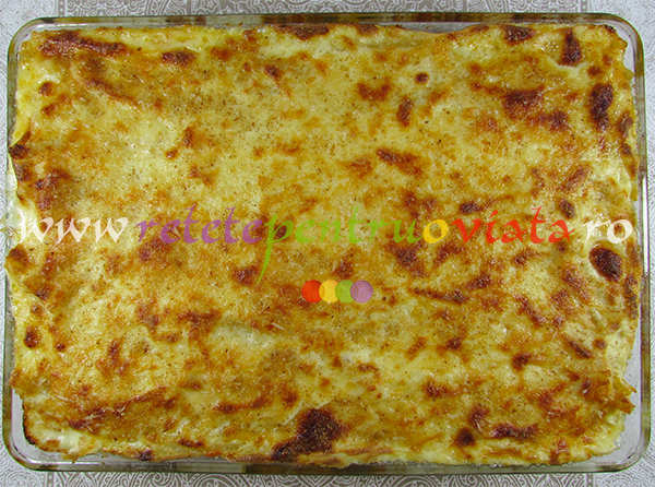 Reteta de paste cu carne tocata pastitsio pasul 8
