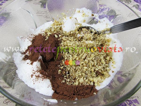 Umplutura pentru cozonac cu nuca si cacao