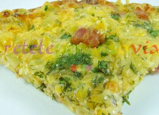 Reteta omleta cu paste