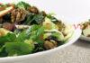 Reteta salata de spanac cu para, mar si parmezan