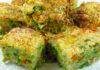 Reteta sufleu de legume cu jambon