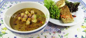 Reteta supa crema de linte verde