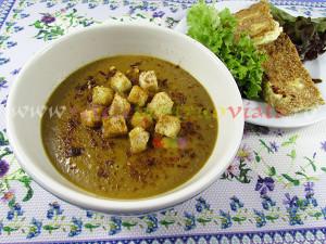Reteta supa crema de linte verde - poza 1