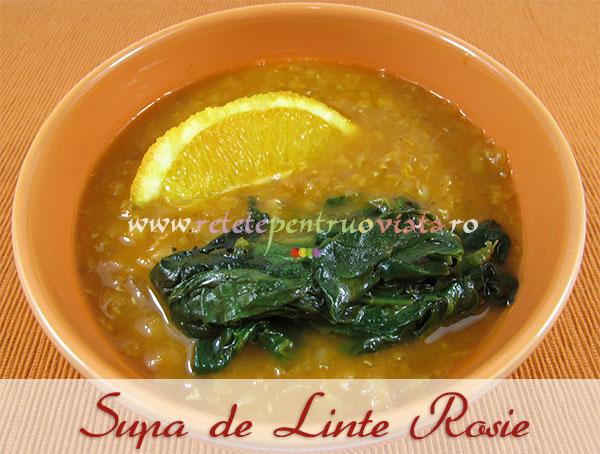 Supa de Linte Rosie - poza 1