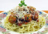 Chiftele Marinate cu Garnitura de Spaghete