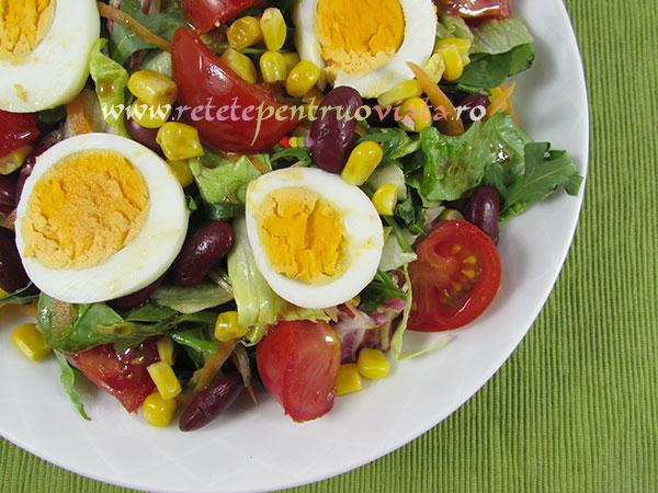 Salata italiana cu fasole rosie si porumb retete pentru for Cu ci na roma