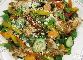 Salata Thailandeza cu Pui si Legume