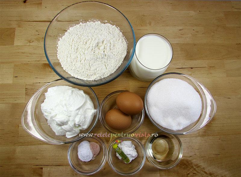 Reteta de prajitura cu nuca de cocos - ingrediente pentru blat