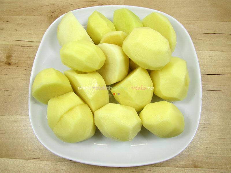 Cartofi mici sau cartofi baby (pentru garnitura)