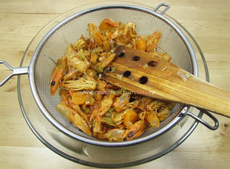 Reteta de supa de creveti (baza pentru mancaruri) - pasul 6