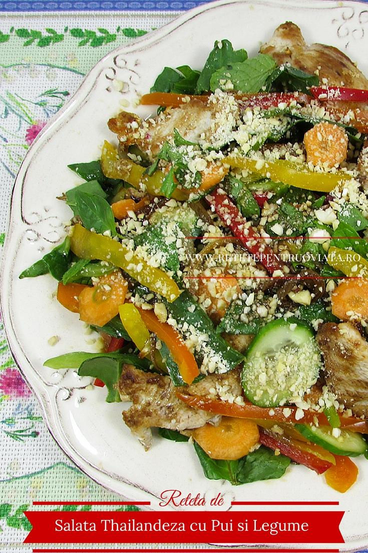 Reteta Salata Thailandeza cu Pui si Legume - poza 2
