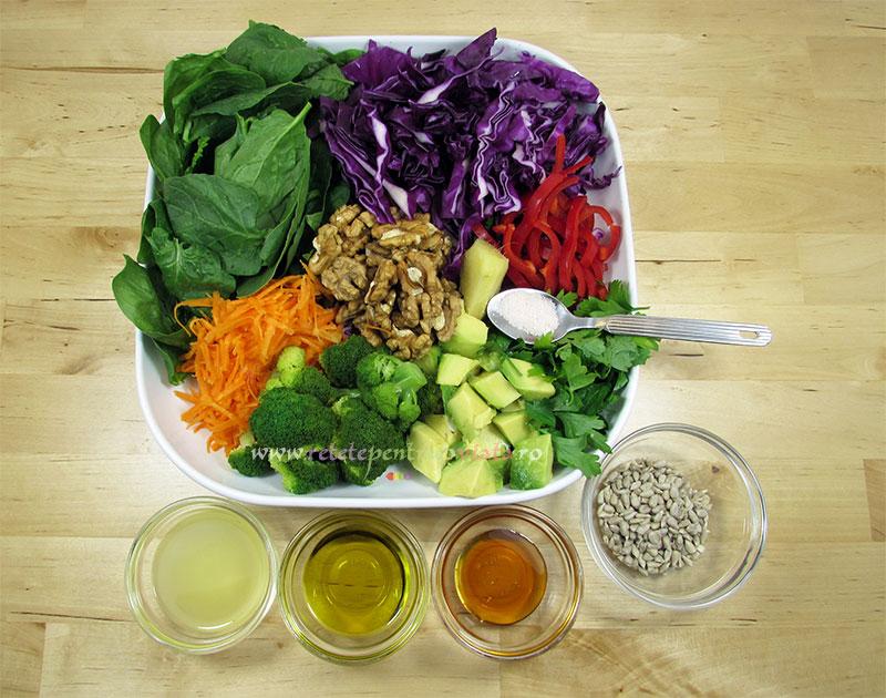Ingrediente reteta salata dietetica