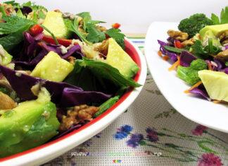 Reteta Salata Dietetica pentru Slabit si Dezintoxicare