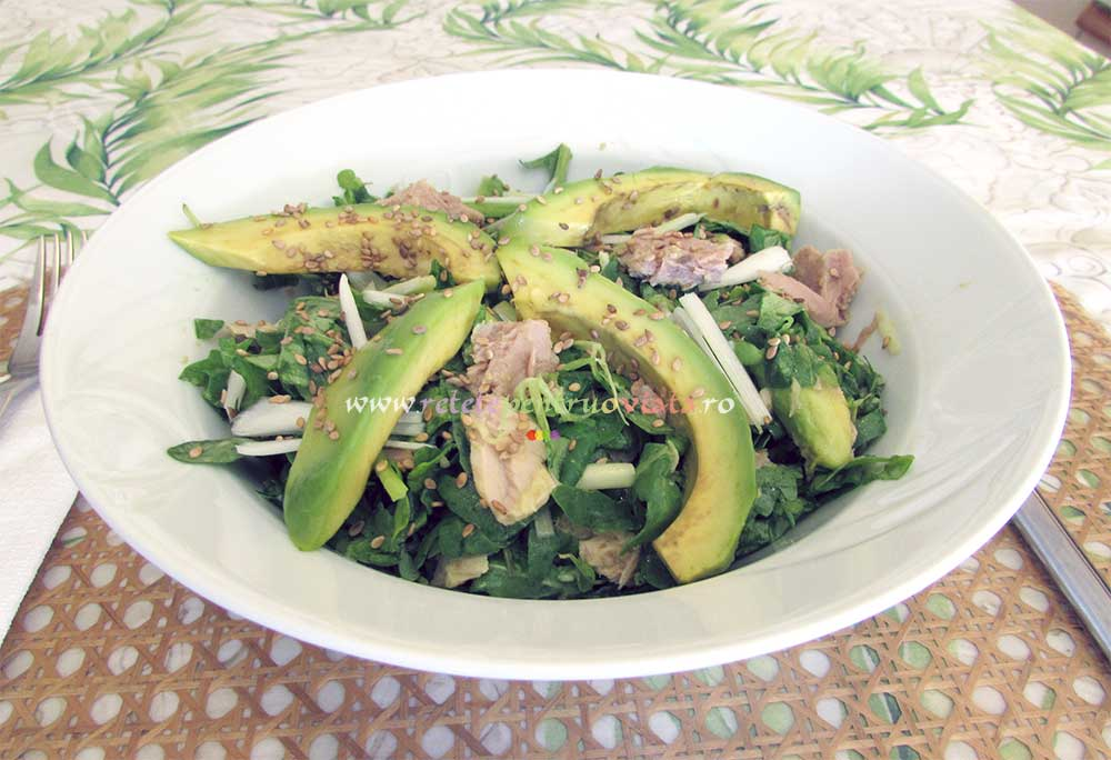 Salata de Ton Greceasca poza 1