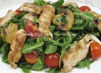 Salata de Cruditati cu Piept de Pui poza 3