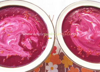 Supa Crema de Sfecla Rosie cu Portocala poza 5