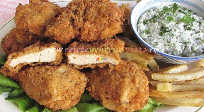 Pui Crocant ca la KFC - Crispy poza 9