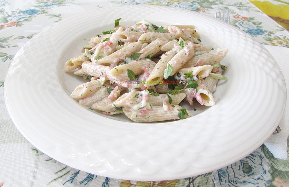Salata de Paste cu Sos de Iaurt poza 7
