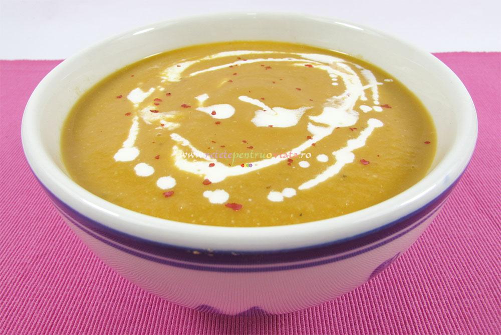 Supa Crema de Linte Rosie poza 2