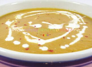 Supa Crema de Linte Rosie poza 3