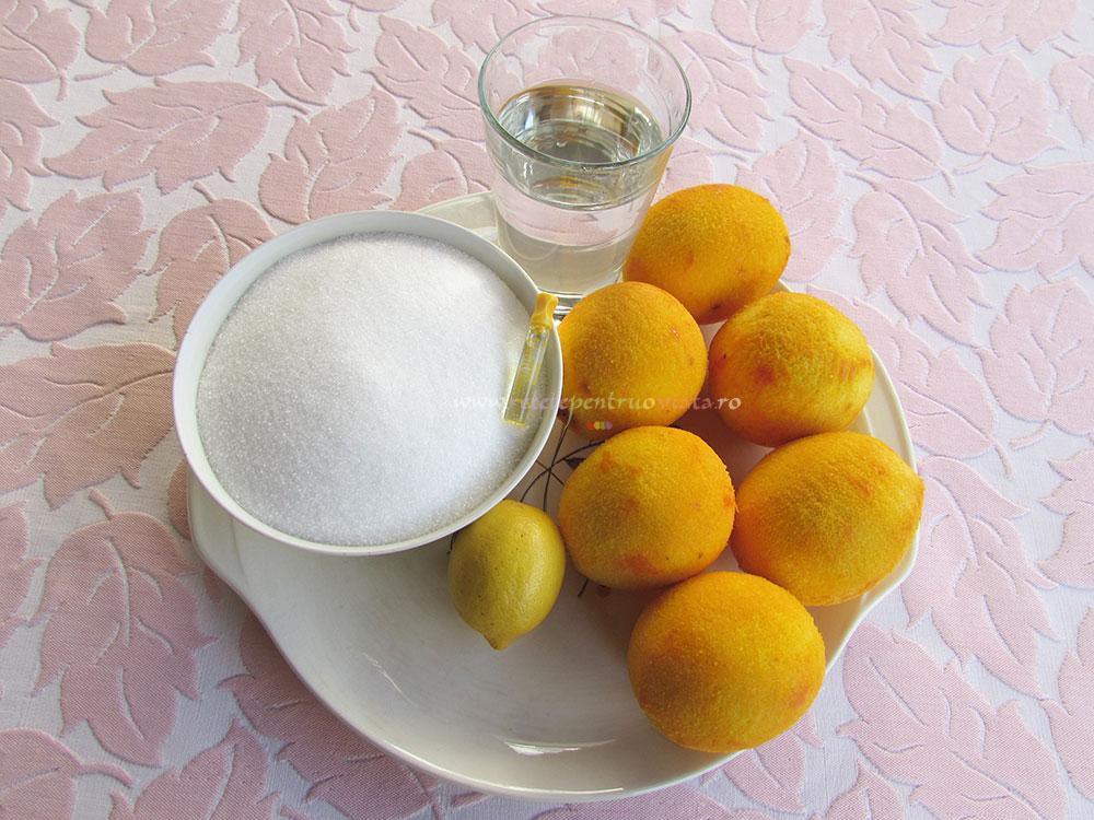 Dulceata de Portocale Intregi cu Vanilie poza 1