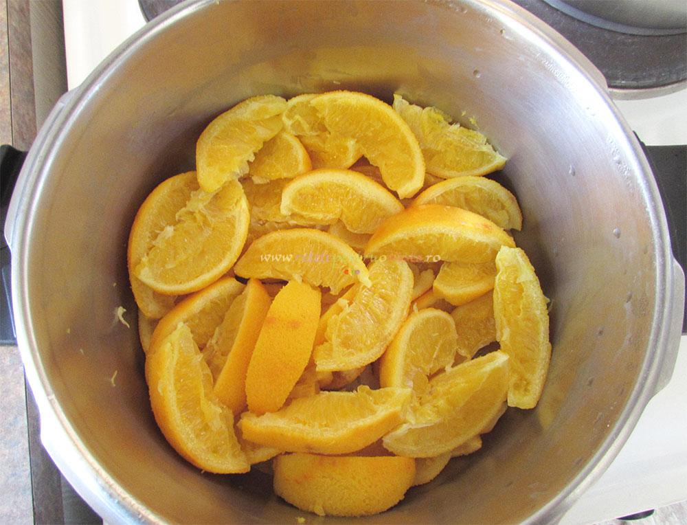 Dulceata de Portocale Intregi cu Vanilie poza 2