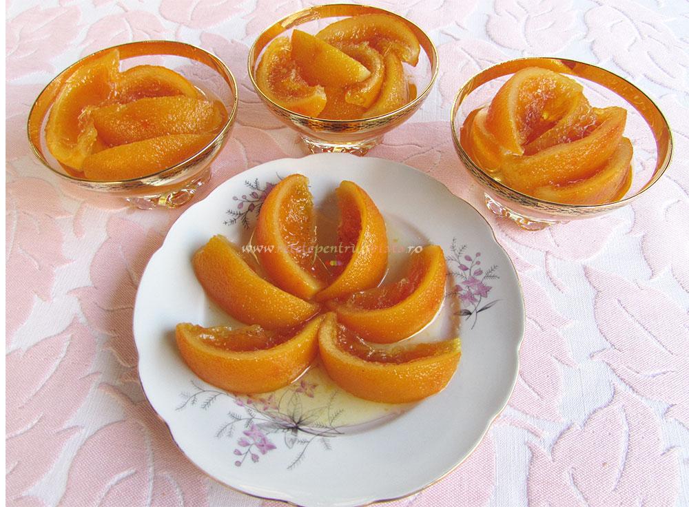 Dulceata de Portocale Intregi cu Vanilie poza 4