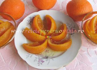 Dulceata de Portocale Intregi cu Vanilie poza 8