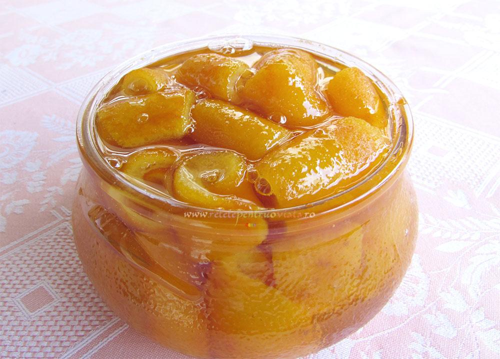 Dulceata din Coji de Portocale poza 4
