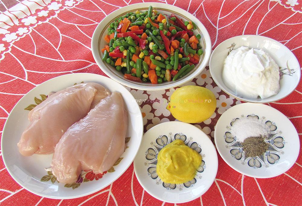 Salata Dietetica din Piept de Pui poza 1