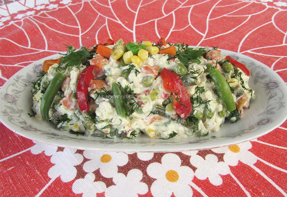 Salata Dietetica din Piept de Pui poza 2