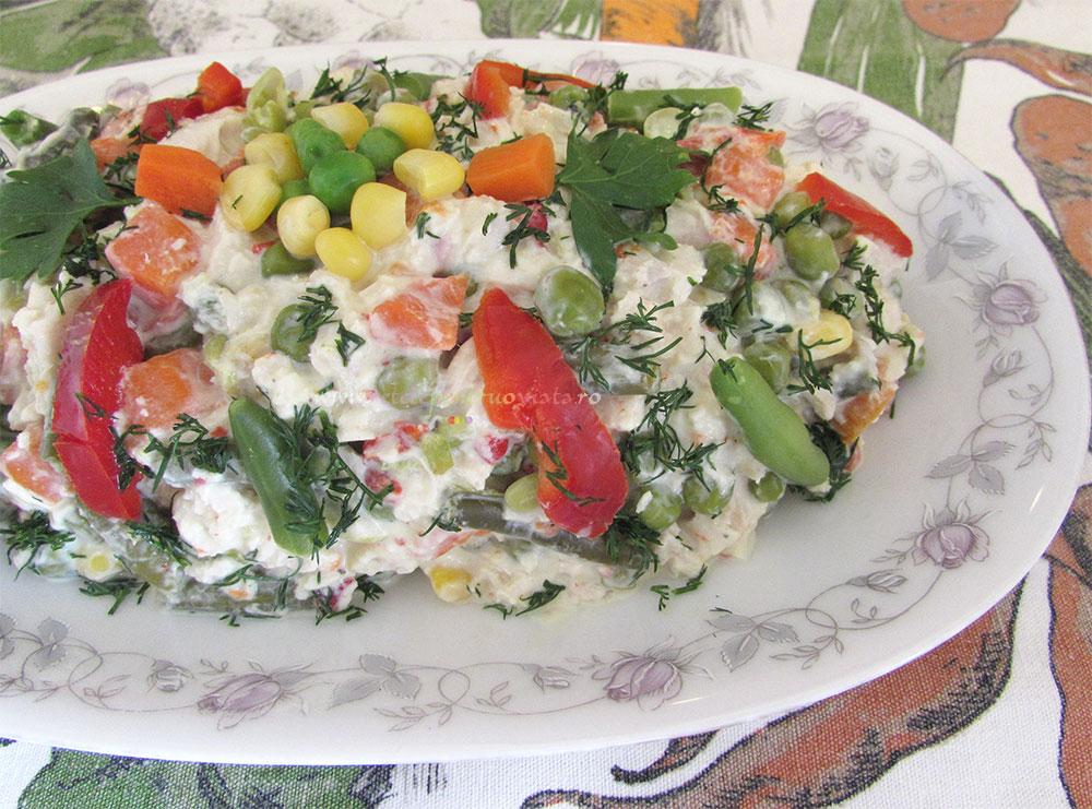 Salata Dietetica din Piept de Pui poza 3