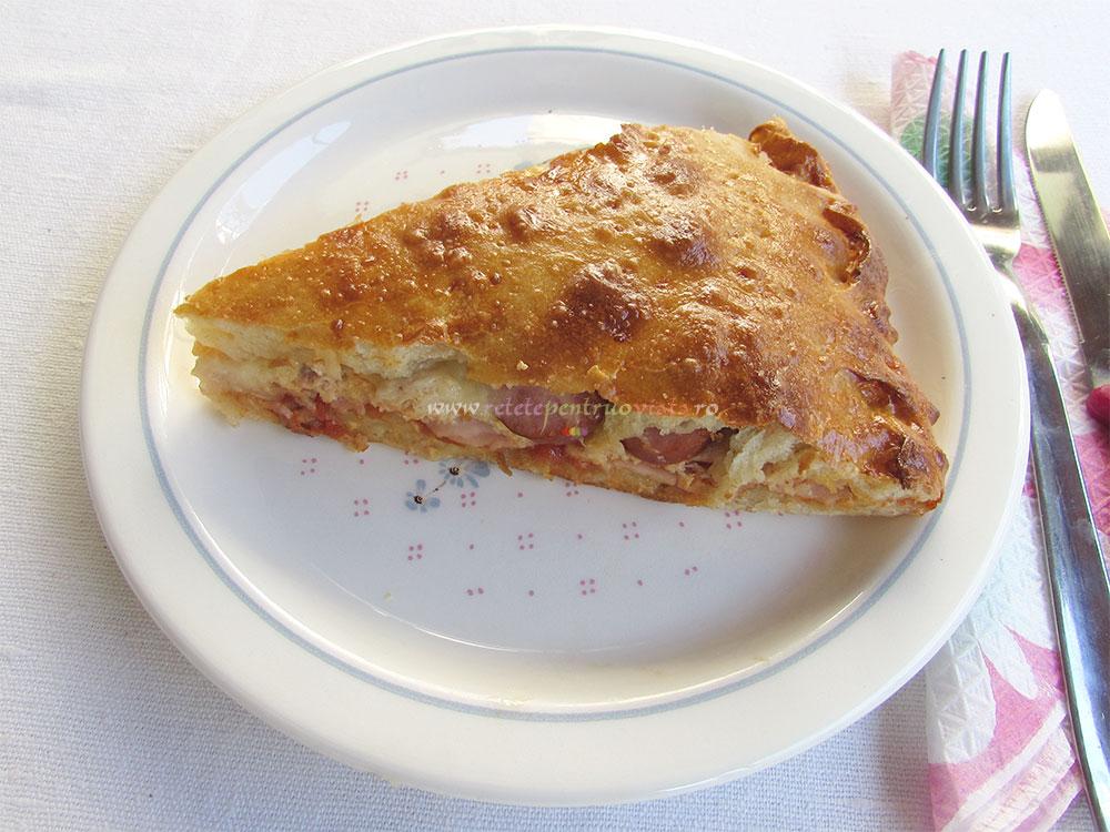 Pizza cu Ton Sunca si Cremvursti poza 9