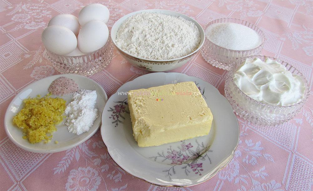Prajitura Insiropata cu Crema de Lamaie poza 2