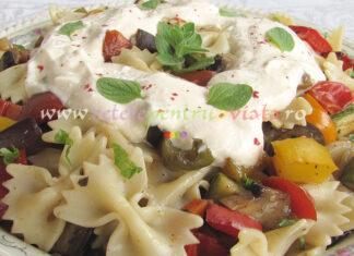 Salata de Paste cu Legume Coapte poza 1