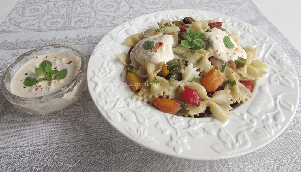 Salata de Paste cu Legume Coapte poza 6