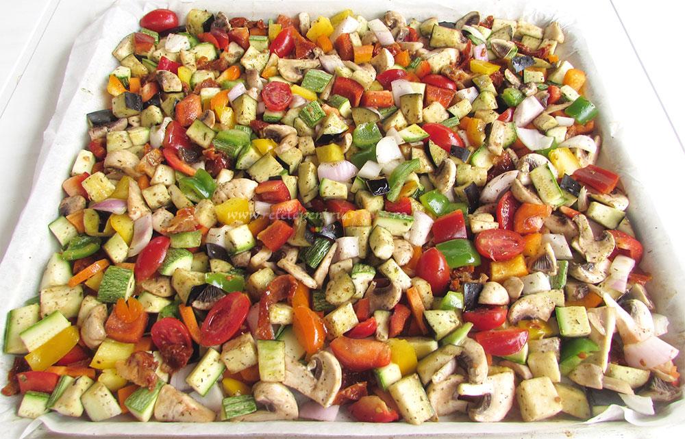 Salata de Paste cu Legume Coapte poza 4