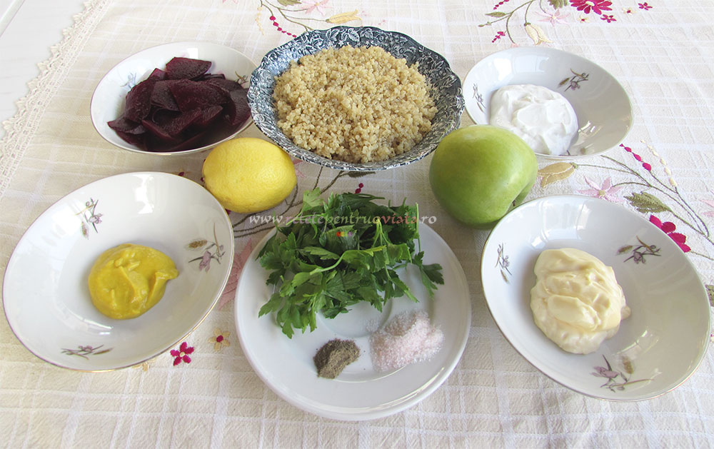 Salata de Quinoa cu Sfecla si Mar poza 6