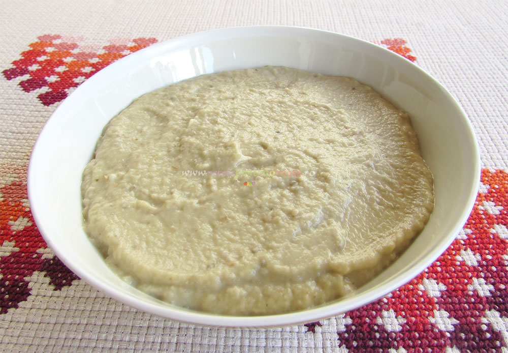 Salata de Vinete cu Tahini Baba Ganoush poza 4