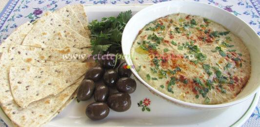 Salata de Vinete cu Tahini Baba Ganoush poza 7