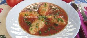 Supa Crema de Rosii cu Galuste poza 1