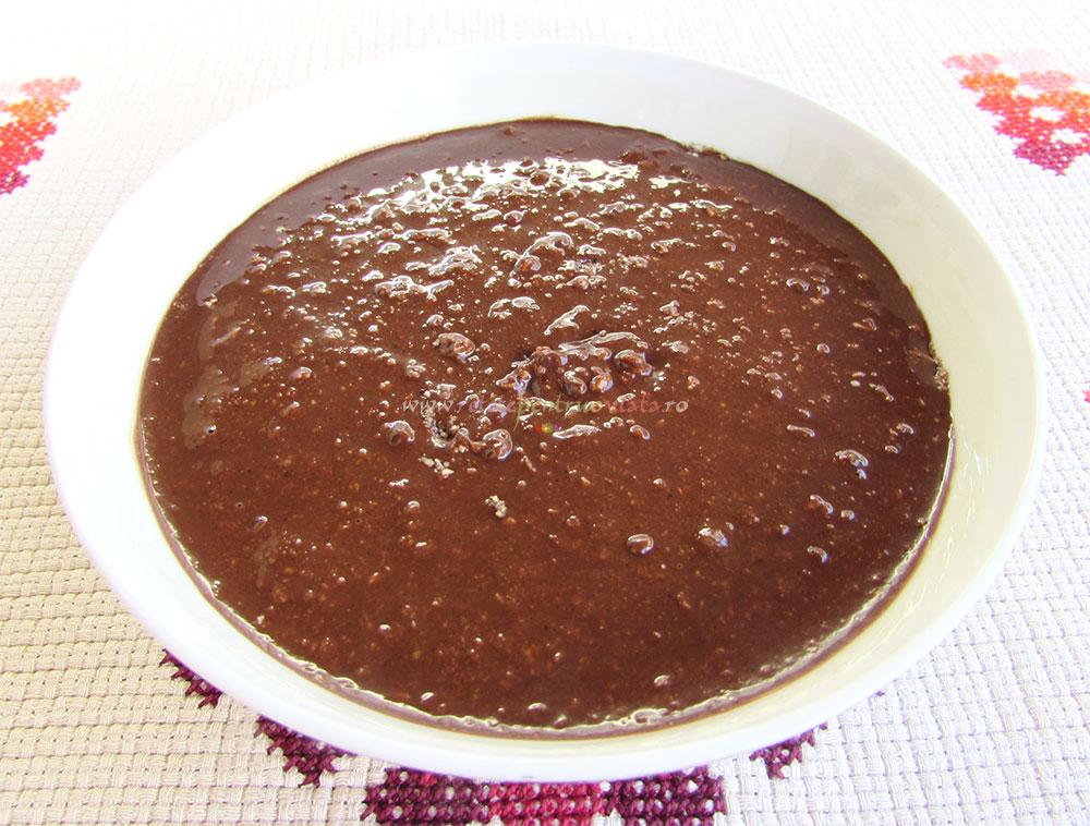 Mini Croissante cu Crema de Ciocolata poza 5