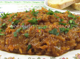 Salata de Vinete Picanta si Aromata poza 1