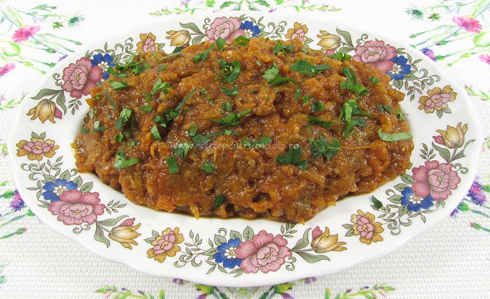 Salata de Vinete Picanta si Aromata poza 3