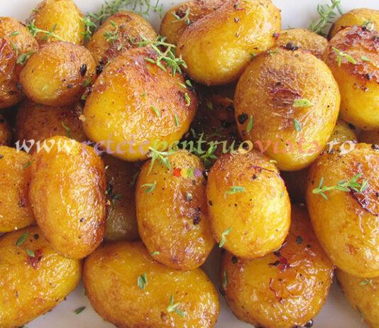 Garnitura de Cartofi Noi cu Unt poza 1